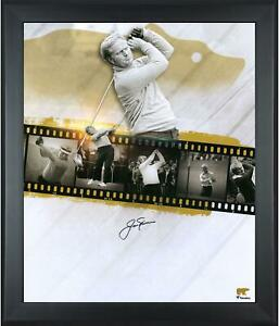 """Jack Nicklaus Frmd Signed 20"""" x 24"""" 18-Time Major Champion Collage Photo"""