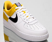Nike Air Force 1 '07 LV8 1 Men's White Amarillo Casual Lifestyle Sneakers Shoes