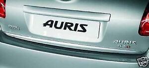 Genuine Toyota Auris Rear Lower Chrome Garnish