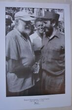 FIDEL CASTRO & HEMINGWAY / Cuban Fishing Tournament Poster / Cuba Photo by KORDA