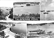 AK, Talsperre Pöhl bei Plauen Vogtl., fünf Abb., 1971