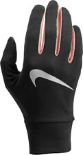 NIKE NRGM1071SL DRY-FIT LIGHTWEIGHT UNISEX TOUCH SCREEN GLOVES BLACK SIZE XS ,S