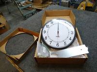 "Brand New 12"" Telecor 2461-D Analog Secondary School & Institutional Clock"