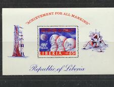 Apollo 11 Moon Landing Space Souvenir Sheet Liberia #C184 Mint NH
