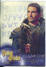 Stargate SG1 Season 5 False Gods Acetate Chase Card F2