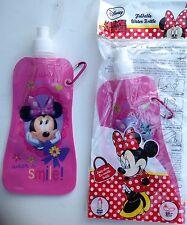 Minnie Mouse Plegable Botella De Agua / Sports Botella X 2