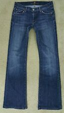 Womens 7 For All Mankind Jeans 28 X 32 Bootcut Pre-owned EUC See Description
