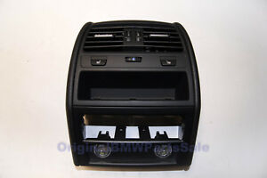 Genuine BMW F01 F02 Centre Console Rear Cover & Air Vent & Seats Heating buttons