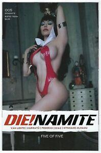 Die!namite # 5 Cosplay Cover E Dynamite NM