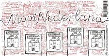 Nederland 2018   Mooi Nederland  Bergen op Zoom  velletje  postfris/mnh