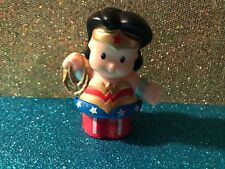 FISHER PRICE LITTLE PEOPLE SUPER HERO WONDER WOMAN CAKE TOPPER FIGURE DISPLAY