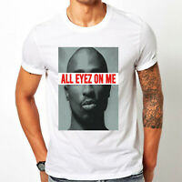 Tupac Shakur T-Shirt, American Rapper All Eyes On Me 2Pac Hip Hop Music Gift Top