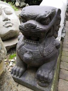 Löwen Paar aus Stein, 40 cm