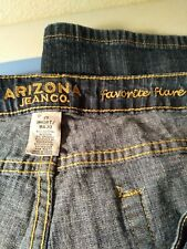 Arizona Jean Company Favorite Flare Junior 15 Short Jeans~ Favorite Flare