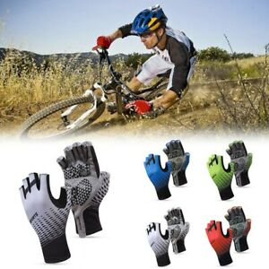 Bicycle Gloves Bike Breathable Cycling Finger GEL Gloves Parts Portable