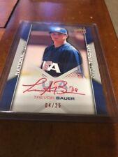 2009 Upper Deck USA Baseball Game Jersey Autograph Auto Trevor Bauer RC 25/25