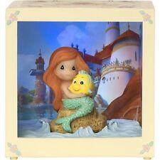 Precious Moments Disney Showcase Ariel Resin/Vinyl LED Shadow Box #164115