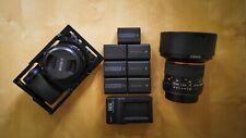 Sony A6300 24.2MP Digital Camera with Prime Lenses, Zhiyun Crane V1 & More