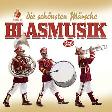 CD Blasmusik Die Schönsten Märsche von Various Artists  2CDs