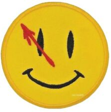 Watchmen DEAD SMILEY FACE Patch - Bullet Hole Smile sew/iron on patch