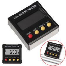 360˚ Mini Digital Protractor Inclinometer Angle FinderMeter W/ Magnetic Base