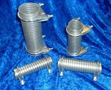 FLEXI EXHAUST PIPE REPAIR/JOINING KIT WITH A PAIR OF CLAMPS LARGER MULTI  SIZES.