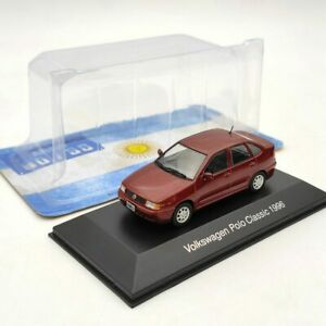 IXO 1:43 Volkswagen Polo Classic 1996 Diecast Models Collection Red