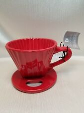 """CHANNTAL """"POUR OVER"""" COFFEE CERAMIC FILTER"""