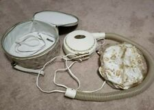 Vintage 1960s Dominion Hair Dryer With Travel Case, Tested