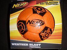 Brand New NERF Sports WEATHER BLAST FOOTBALL Soccer Ball