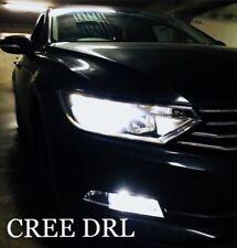 VW Passat B7 Xenon LED BLANCO brillante CREE Bombillas de circulación diurna DRL
