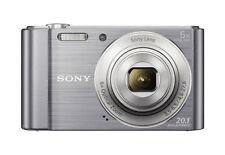 Sony Cyber-shot DSC-W810 20.1MP Digitalkamera - Silber (Kit mit Nur Gehäuse Objektiv)