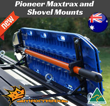 Maxtrax and shovel mounts for Pioneer Roof Racks