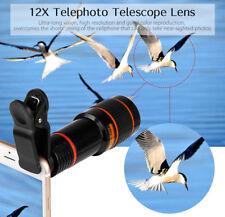 12X 3M All-optical Zoom Telephoto Telescope Lens Mobile Phone Camera 70 degree