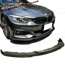 HM Look Front Extension Lip Fit 2014 UP BMW F32 F33 F36 428i 435i M Sport Bumper