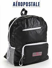 NWT GREAT$59.50 BLACK AEROPOSTALE BACKPACK  BAG NEW! GREAT! TAKE IT TO GYM SEE