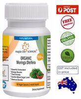 ORGANIC Moringa Oleifera Capsules - Energy Booster - AU Stock