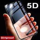 5D Panzer Glas für iPhone X Curved Display Schutz Folie Full Screen Echt Glass