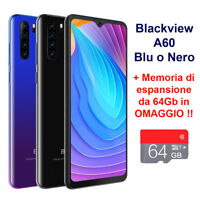 Smartphone Blackview A60 64GB 3G Telefono Cellulare 13MP Android 8.1