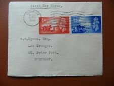 Fdc 3rd Anniversary Liberation Channel Is.,add.St Peter Port 10th May 1948 cv£35