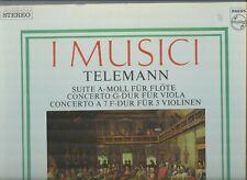 Telemann  -  I Musici  -  Gatefold  -  Dutch Philips LP