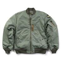 1955 MA-1 Polit Flight Bomber Jacket USAF Army WW2 Mens Military Thick Coat size