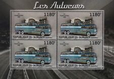 1949 GREYHOUND LINES GX-2 (Prototype PD4501 SCENICRUISER) Bus Stamp Sheet (2012)