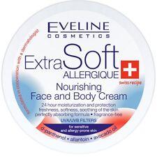 Eveline Extra Soft Nourishing Face & Body Cream UVA & UVB Sensitive Skin 200ml