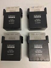 4 Sorvall Heraeus Rotor Buckets W/ Micro Fluid Card Holders 75015679