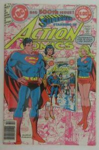 Action Comics #500 Superman - DC Comics 1979