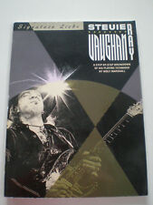 STEVIE RAY VAUGHAN Signature leckt Gitarre Tabulatur BOOK+CD 1991 Wolf Marshall