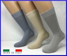 6 paia di calze corte in cotone FILO DI SCOZIA da uomo calzini colorate fantasia