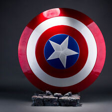 Avengers Captain America Shield ABS Replica Metal Color Cosplay Collection Prop