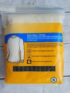 Carhartt BASE FORCE Heavyweight Cotton Crewneck Shirt 4XL White 100639 103